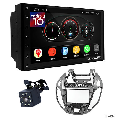 """7"""" DSP Car Radio+Fascia Kit Compatible with Ford B-Max 12-17"""
