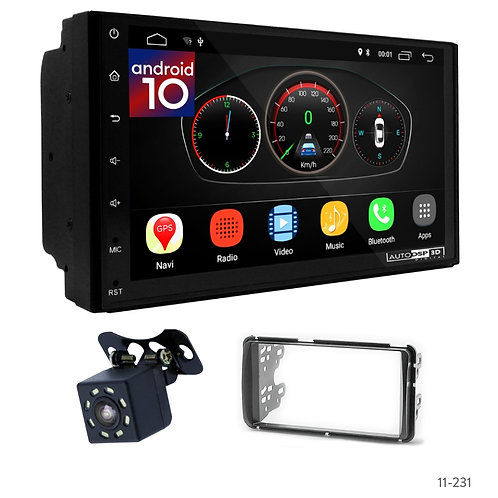 "7"" DSP Car Radio+Fascia Kit Compatible with Toyota Etios 2011+"