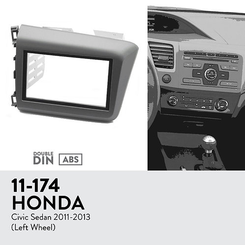11-174 Compatible with HONDA Civic 2011-2013
