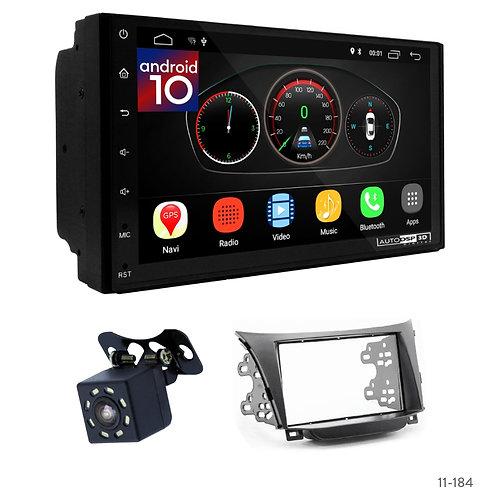"7"" DSP Car Radio+Fascia Kit Compatible with Hyundai i-30 12+; Elantra GT (GD) 12"