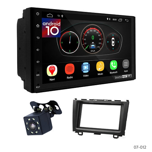 "7"" DSP Car Radio+Fascia Kit Compatible with Honda CR-V 07-11"