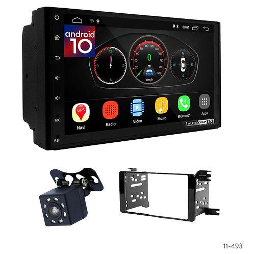 "7"" DSP Car Radio+Fascia Kit Compatible with Mitsubishi Outlander; Lancer, Pajero"