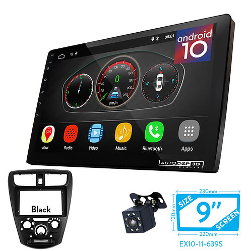 "9"" Android 10 Car Stereo + Fascia Kit for PERODUA Axia 2014+"