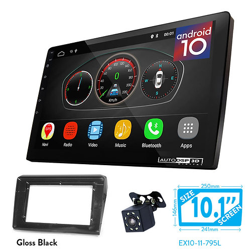 "10"" Android 10 Car Stereo + Fascia Kit for SUZUKI Swift 2017+"