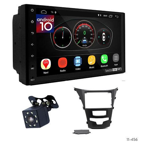 """7"""" DSP Car Radio+Fascia Kit Compatible with SSANG Yong Actyon, Korando 2013+"""
