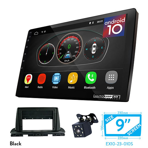 "9"" DSP Car Radio+Fascia Kit Compatible with KIA Cerato, Forte (BD), KX3 2018+"