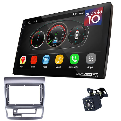 "9"" Android 10 Car Stereo + Fascia Kit for TOYOTA Alphard 2002-2007"