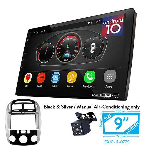"""9"""" DSP Car Radio+Fascia Kit Compatible with KIA Cerato (LD) 2006-2008"""