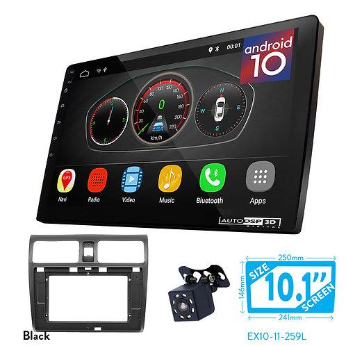 "10"" DSP Car Radio+Fascia Kit Compatible with SUZUKI Swift 2004-2010; Dzire"