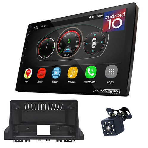 "9"" Android 10 Car Stereo + Fascia Kit for JAC S4 2019-2020"