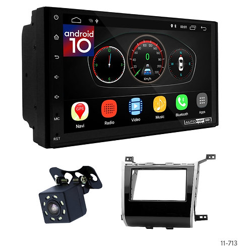 """7"""" DSP Car Radio+Fascia Kit Compatible with Nissan Pathfinder (R52) 2013+"""