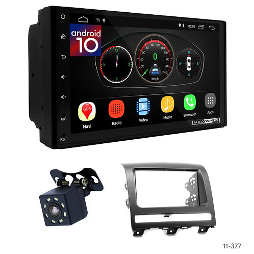 "7"" DSP Car Radio+Fascia Kit Compatible with Fiat Albea, Siena, Palio"