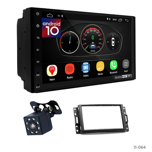 "7"" DSP Car Radio+Fascia Kit Compatible with CHEVROLET Corvette, Uplander"