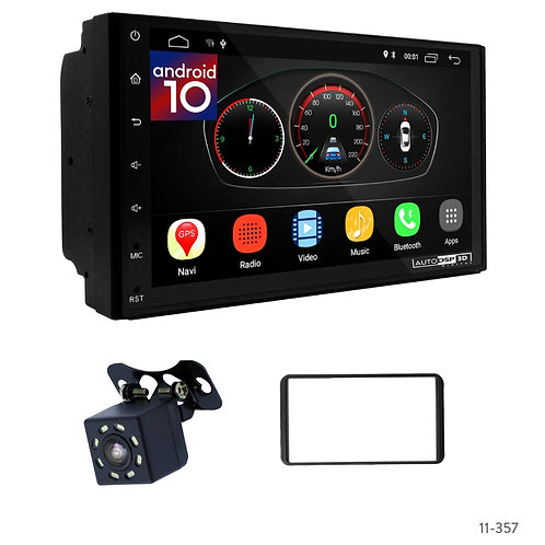 "7"" DSP Car Radio+Fascia Kit Compatible with Suzuki Jimny with Plug and Play Harn"
