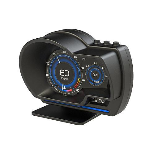 """UGAR 4"""" Multi-Functional Digital Meter Speed Water-Temp Gauge Malfunction Alert"""