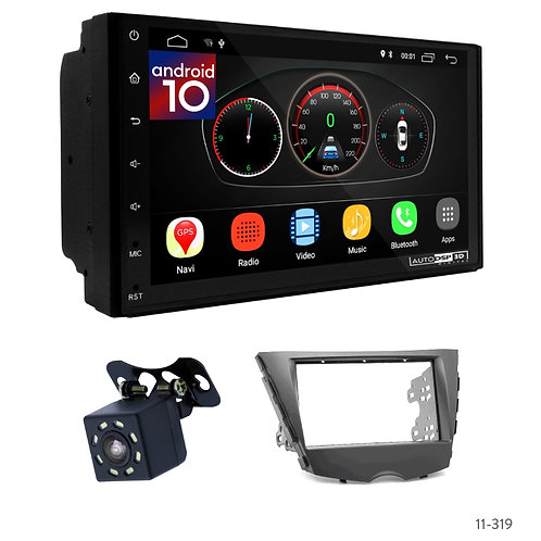 "7"" DSP Car Radio + Fascia Kit for Hyundai Veloster 11+"