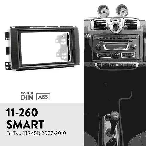 11-260 Compatible with SMART Compatible withTwo (BR451) 2007-2010