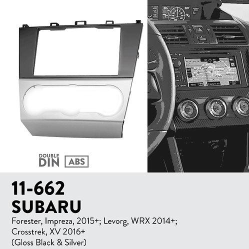 11-662 Compatible with SUBARU Compatible withester, Impreza, 2015+; Levorg, WRX