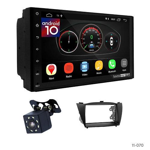 "7"" DSP Car Radio+Fascia Kit Compatible with Hyundai iX-35, Tucson iX 10+"