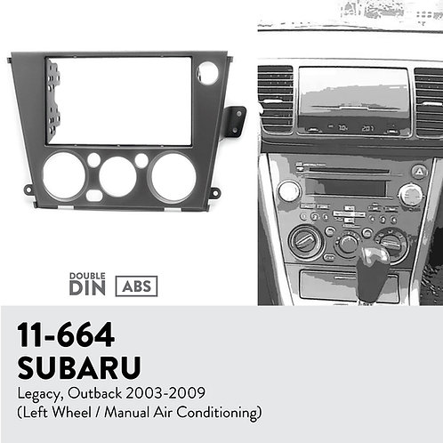 11-664 Compatible with SUBARU Legacy, Outback 2003-2009
