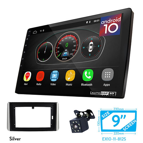 "9"" DSP Car Radio+Fascia Kit Compatible with MITSUBISHI Xpander 2017+"