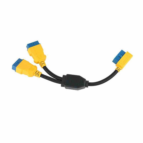 OBD2 Splitter Y Cable Male Splitter to 2 Female Extension Cable