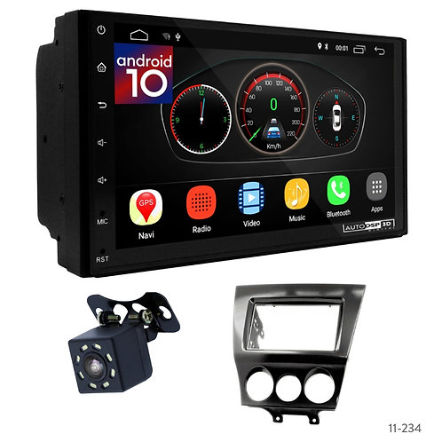 "7"" DSP Car Radio+Fascia Kit Compatible with Mazda RX-8 08-11"