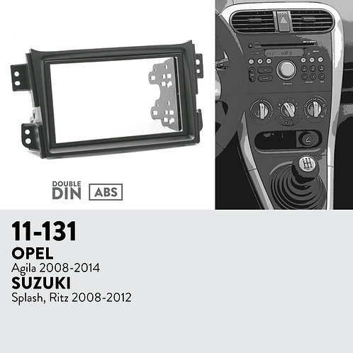 11-131 Compatible with OPEL Agila 2008-2014 / SUZUKI Splash, Ritz 2008-2