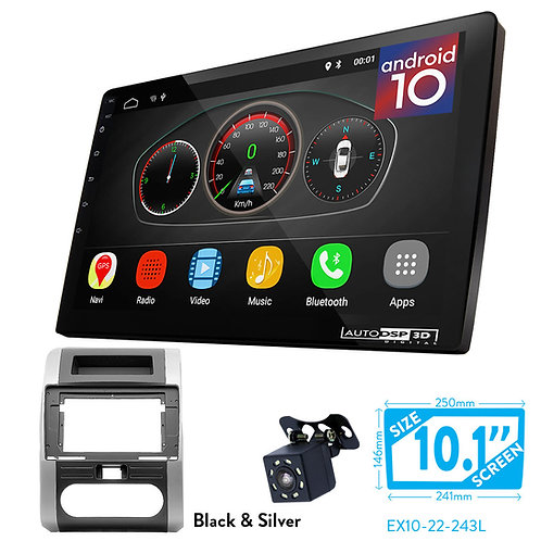 """10"""" DSP Car Radio+Fascia Kit Compatible with NISSAN X-Trail 20"""