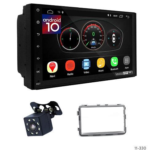 "7"" DSP Car Radio+Fascia Kit Compatible with SSANG Yong Rexton 2013-2017"