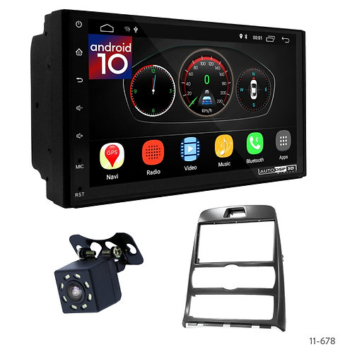 """7"""" DSP Car Radio+Fascia Kit Compatible with Hyundai Genesis Coupe, Rohens Coupe"""