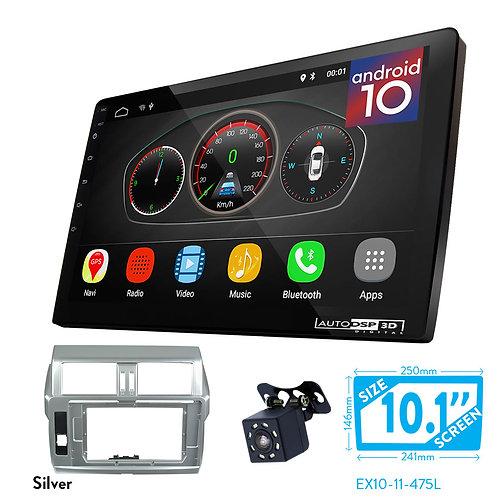 "10"" DSP Car Radio+Fascia Kit Compatible with TOYOTA Land Cruiser Prado (150)"