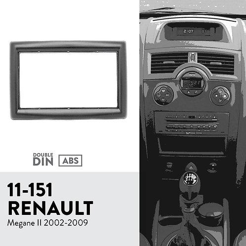 11-151 Compatible with RENAULT Megane II 2002-2009