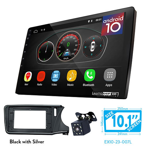 "10"" Android 10 Car Stereo + Fascia Kit for Honda City 2014+"