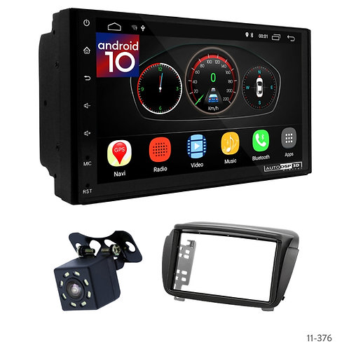 """7"""" DSP Car Radio+Fascia Kit Compatible with Fiat Doblo/OPEL Combo Tour(D)"""