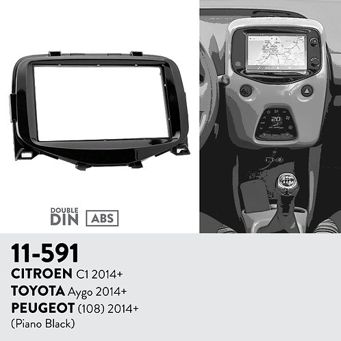 11-591 Compatible with CITROEN C1 2014+ / TOYOTA Aygo 2014+ / PEUGEOT (108)