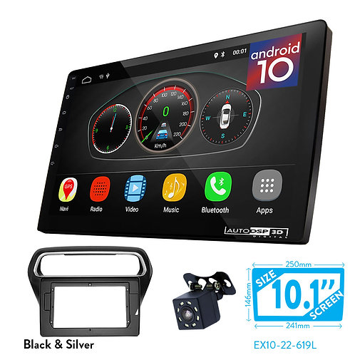 """10"""" Android 10 Car Stereo + Fascia Kit for FORD Escort 2014+"""