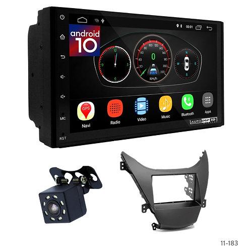 """7"""" DSP Car Radio + Fascia Kit for Hyundai Elantra (MD), Avante (MD) 10-13"""