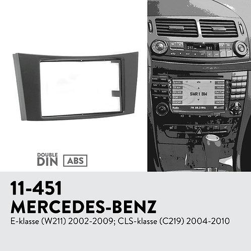 11-451 Compatible with MERCEDES-BENZ E-klasse (W211) 2002-2009; CLS-klasse (