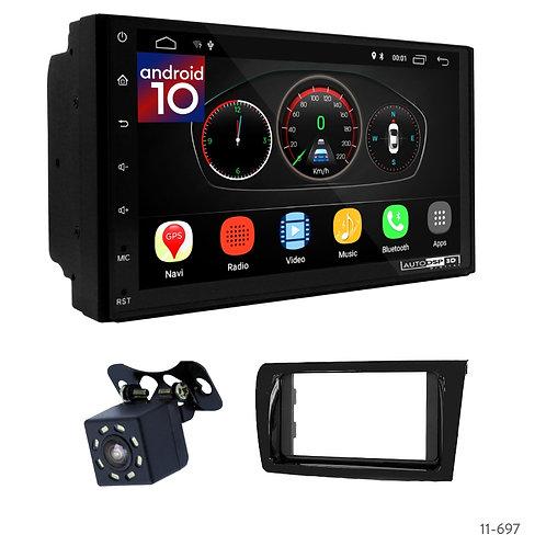 "7"" DSP Car Radio + Fascia Kit for Toyota Vios, Yaris (China) 16+"