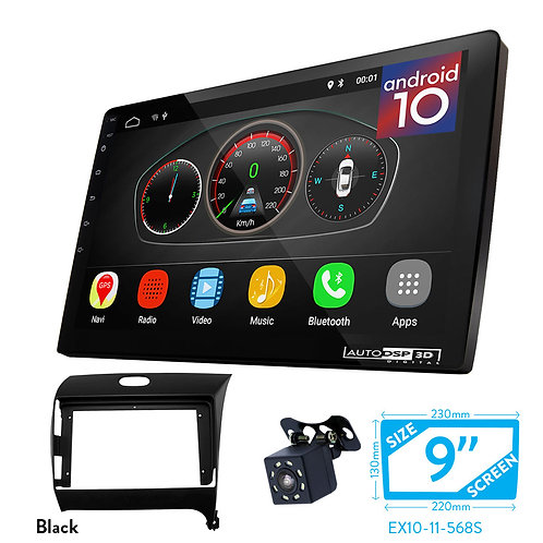 "9"" DSP Car Radio+Fascia Kit Compatible with KIA Cerato, Forte 2013+; K3 2012+"