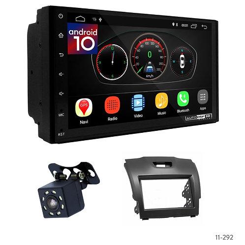 "7"" DSP Car Radio+Fascia Kit Compatible with Isuzu D-Max; MU-X/Holden Colorado"