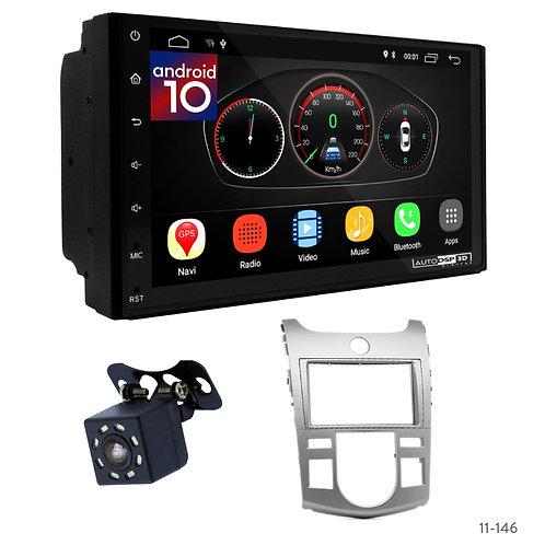 """7"""" DSP Car Radio+Fascia Kit Compatible with KIA Cerato, Forte, Naza Forte"""