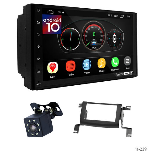 """7"""" DSP Car Radio+Fascia Kit Compatible with Nissan Rogue 2007-2013"""