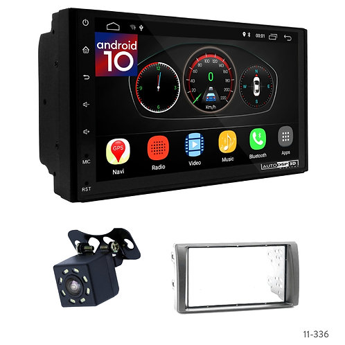 """7"""" DSP Car Radio+Fascia Kit Compatible with Toyota Camry 01-06"""