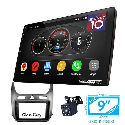 """9"""" DSP Car Radio+Fascia Kit Compatible with CHEVROLET Cobalt 2016+"""