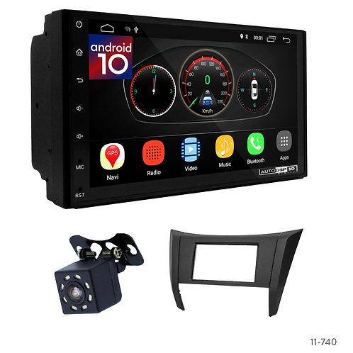 "7"" DSP Car Radio+Fascia Kit Compatible with Nissan NP300, Navara, Frontier 17+"