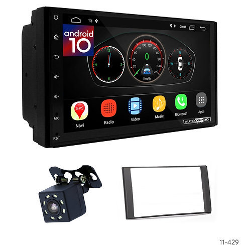 "7"" DSP Car Radio + Fascia Kit for Nissan Livina 2013+"