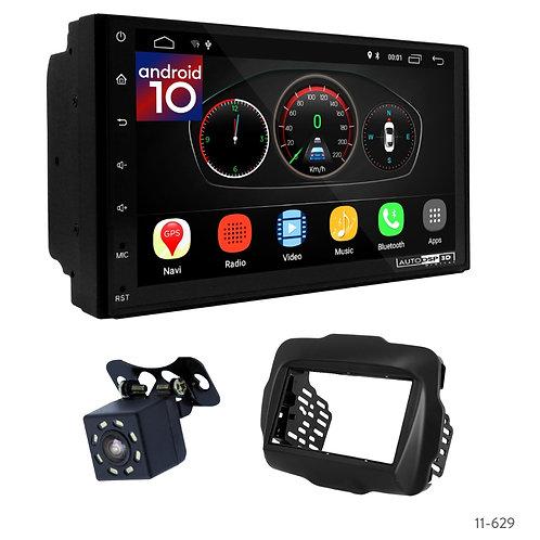 "7"" DSP Car Radio + Fascia Kit for Jeep Renegade 14+"