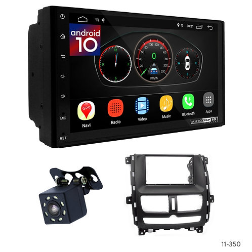 "7"" DSP Car Radio+Fascia Kit Compatible with Nissan (DONGFENG) Succe; Shuaike; Sh"